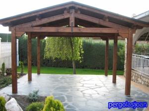 estructura de madera en kit